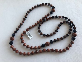 Natural sandstones beads Lucille