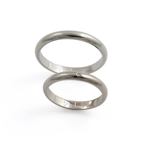 Platinum wedding rings Family