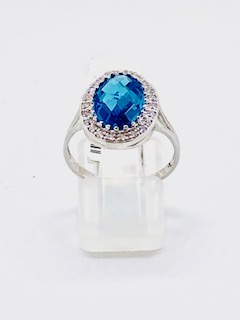 White gold ring Dearness