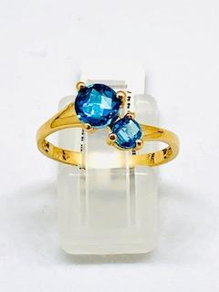 Trendy rose gold ring Unison