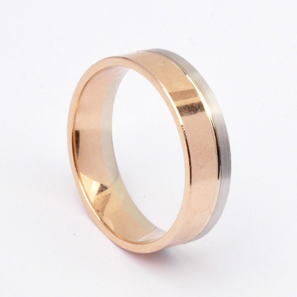 Gold wedding ring Blessed
