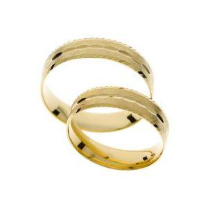 Light wedding rings