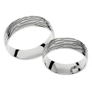 Natural wedding rings