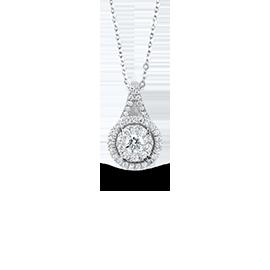 Gold pendants with diamonds/precious stones