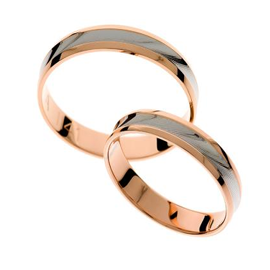 Light wedding rings